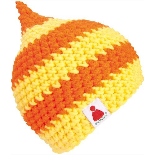Sionyx BeanieBeanie Beanie Mütze mit Streifen gehäkelt in Handarbeit