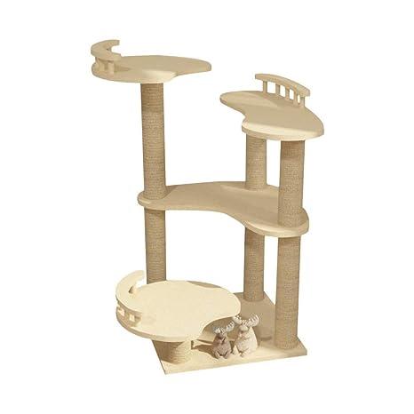 Amazon.com: Árbol de muebles para gatos, rascador de gatitos ...