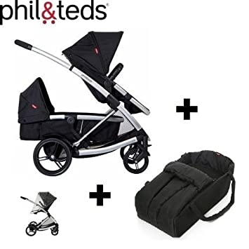 Phil & Teds Promenade Double Cart - Includes Secondary Seat ...