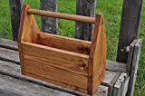 Rustic Toolbox Style Planter Box