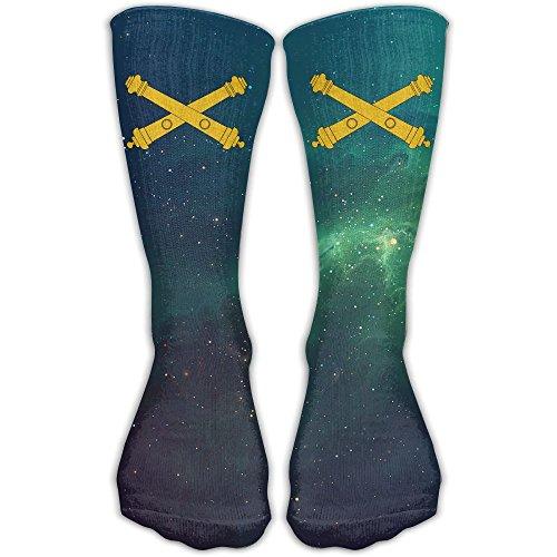 US Army Field Artillery Best High Performance Athletic Running Casual Socks For Men & Women Army Artillery Field Equipment