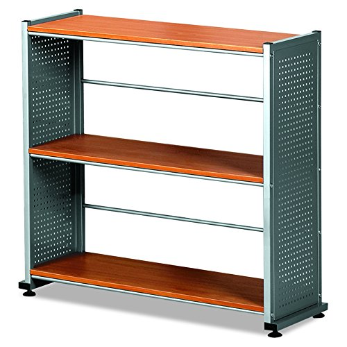 Mayline MLN993MEC Soho Bookcase, Medium Cherry Thermofoil ()