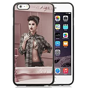 NEW DIY Unique Designed Case For Sam Sung Note 4 Cover Inch Phone Case For Selena Gomez In The Mirror Phone