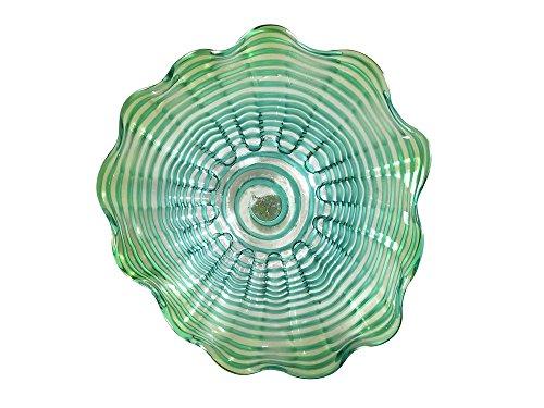 Dale Tiffany Waterfront Hand Blown Glass Art Decor-12 Inch, -