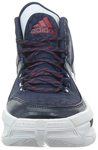 adidas Performance JOHN WALL 2 Chaussures de Basketball Homme Bleu Blanc Adiprene +