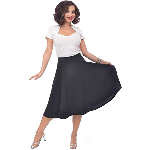 839478bd0 Amazon.com: Steady Clothing Women's High Waist Thrills Skirt Black ...