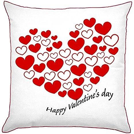 My Custom Style Cojín cuadrado modelo San valentín -feliz ...
