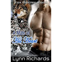 A Mate of His Heart (A BBW Shapeshifter Christmas Romance)
