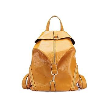 Señoras, Mochilas, Coreano, Bolsas de Mensajero, Informal, Mochilas Escolares, IR de Compras, Práctico (Color : Amarillo, tamaño : Un tamaño): Amazon.es: ...