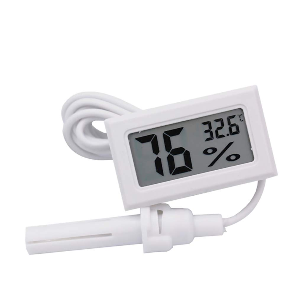 Termómetro Digital de Agua con Pantalla LCD para terrario, Acuario ...