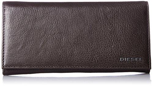 Diesel Men's Jem-J 24 A Day Wallet, Seal Brown, One Size by Diesel (Image #1)