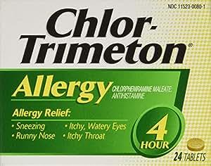 Chlor-Trimeton Allergy 4hr Tablet, 24 Count box