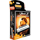 Hohner Progressive Series 560 Special 20 Harmonica C (Color: C)