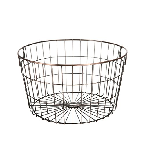Mainstays Antique Gold Wire Basket