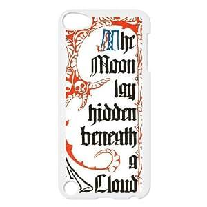 iPod Touch 5 Case White The Moon Lay Hidden Beneath a Cloud ntck
