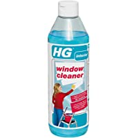 HG Window Cleaner 500 ml – A Super Concentrated Window Cleaner Fluid for Window Cleaning Without Streaks A Window Cleaning Solution Used by Professional Window Cleaners