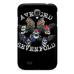 Samsung Galaxy S4 TrP15981haUv Allow Personal Design Fashion Avenged Sevenfold Band A7X Image Great Hard Cell-phone Cases -Marycase88