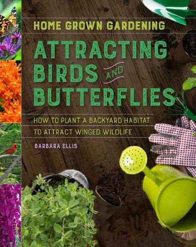 Book Cover: Attracting Birds and Butterflies