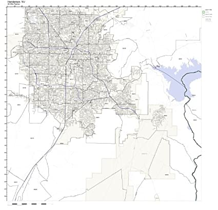 Amazon.com: Henderson, NV ZIP Code Map Laminated: Home & Kitchen