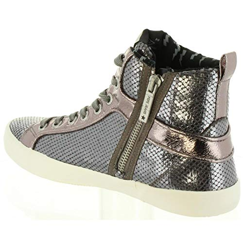 Jeans Chrome Pepe Donna Stivaletti Stark Pls30770 952 Per Odxg1fq