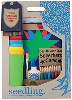 Seedling Design Your Own Superhero Cape Activity Kit