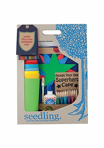 Seedling Design Your Own Superhero Cape Activity Kit