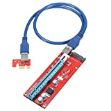MonkeyJack 60cm Extension Cable PCI-Express Card Power Connector for Bitcoin 1x To 16x