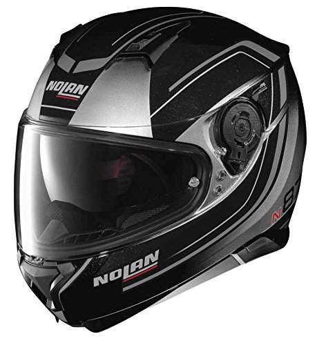 NOLAN N87 FULGOR N-COM METAL BLACK GREEN