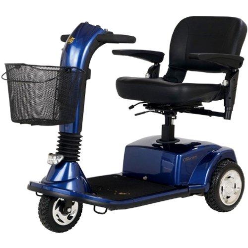 Golden Technologies 3 Wheel Companion Scooter GC340 - Companion - 3 wheel - Batteries Included -GC340 Blue