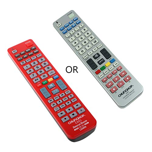 ICCQ Universal 8 in 1 Remote Control Controller Learn Function for TV CBL VCR SAT DVD