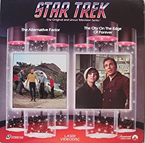 Amazon star trek original tv series laser disc the the alternative factor episode 20 and the city on the edge of forever episode 28 starring william shatner leonard nimoy deforest kelley sciox Choice Image