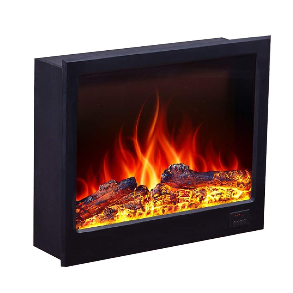 Liu Weiqin Electronic Fireplace - LED Simulation fire Decoration/Embedded Electronic Heater with Remote Control/Inner Space: Width 660180560 Height Frame Width 740180600 Height by Liu Weiqin