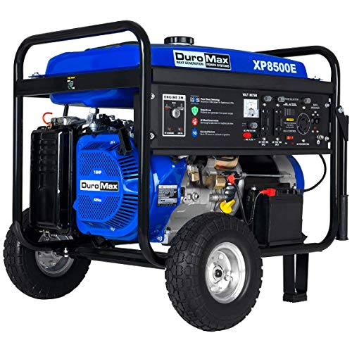 Duormax XP8500E Gas Powered 8500 Watt Electric Start Portable Generator