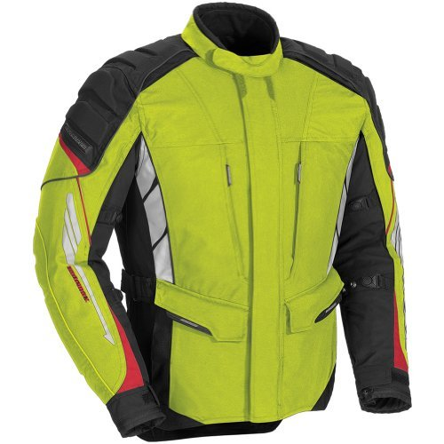 Adventure Textile Jacket (Fieldsheer Adventure Tour Women's Textile On-Road Motorcycle Jacket - Hi Viz /)
