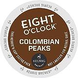 Keurig, Eight O'Clock Coffee, 100% Colombian / Colombian Peaks, K-Cup packs, 24 Count