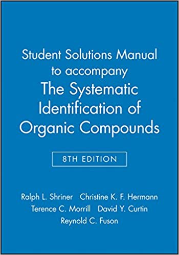 Student solutions manual to accompany the systematic identification student solutions manual to accompany the systematic identification of organic compounds 8e 8th edition fandeluxe Images