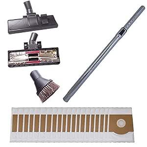 Aspiradora tubo de 35mm, suelos, con boquillas (20bolsas de aspiradora.