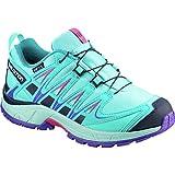 Salomon Unisex XA PRO 3D CSWP J Trail Running Shoe, Blue Curacao, 3 M US Big Kid