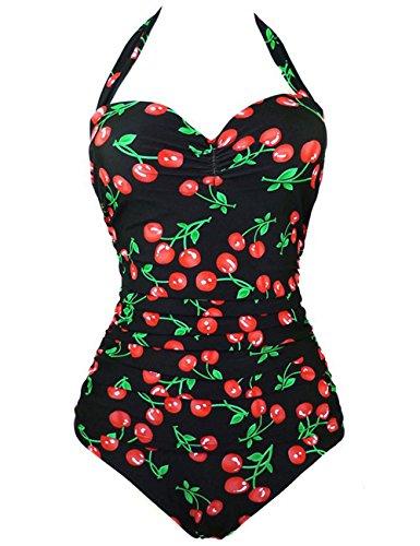 Cherry Print Bikini Set in Australia - 4