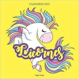 Calendrier Licorne 2021 Calendrier mural Licornes 2021 (French Edition): Collectif