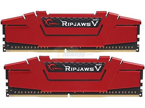 G.Skill Ripjaws V Series 32GB (2 x 16GB) 288-Pin SDRAM DDR4 2666 (PC4 21300) F4-2666C15D-32GVR