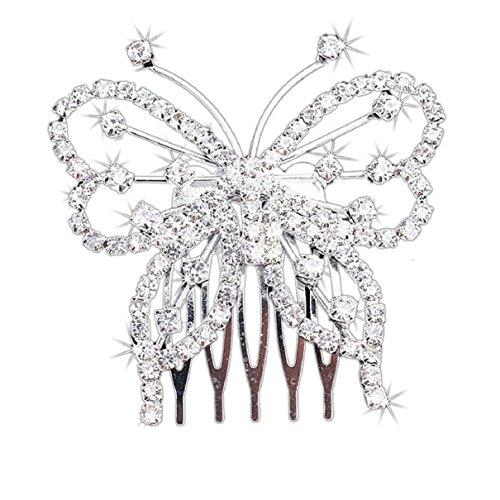 Doinshop Elegant Butterfly Crystal Rhinestone product image