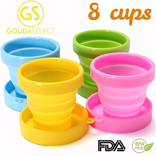 Travel Cup - Collapsible Cup - Camping Cup - Light and Sm...