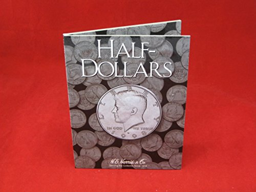 Harris Coin Folder – Half Dollars – Plain Folder #8HRS2698