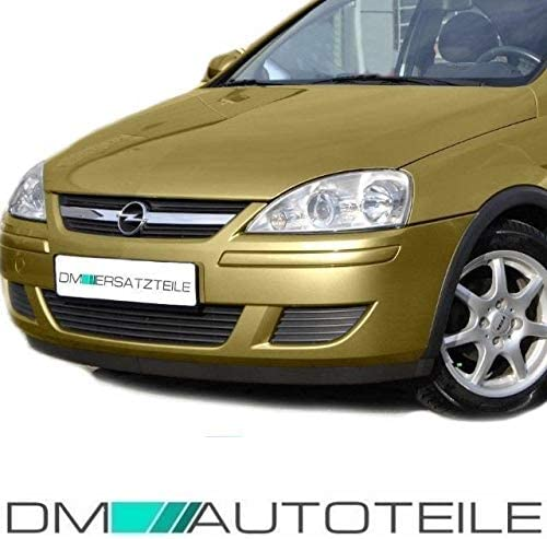 DM Autoteile Corsa C L/üftungsgitter Gitter Sto/ßstange vorne Rechts /& LINKS Bj 03-06