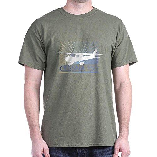 Used, CafePress Aircraft Cessna 150 Dark T Shirt 1