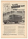 1951 John Widdicomb Co Dodge Job-Rated Truck Trade Original Print Ad (42157)