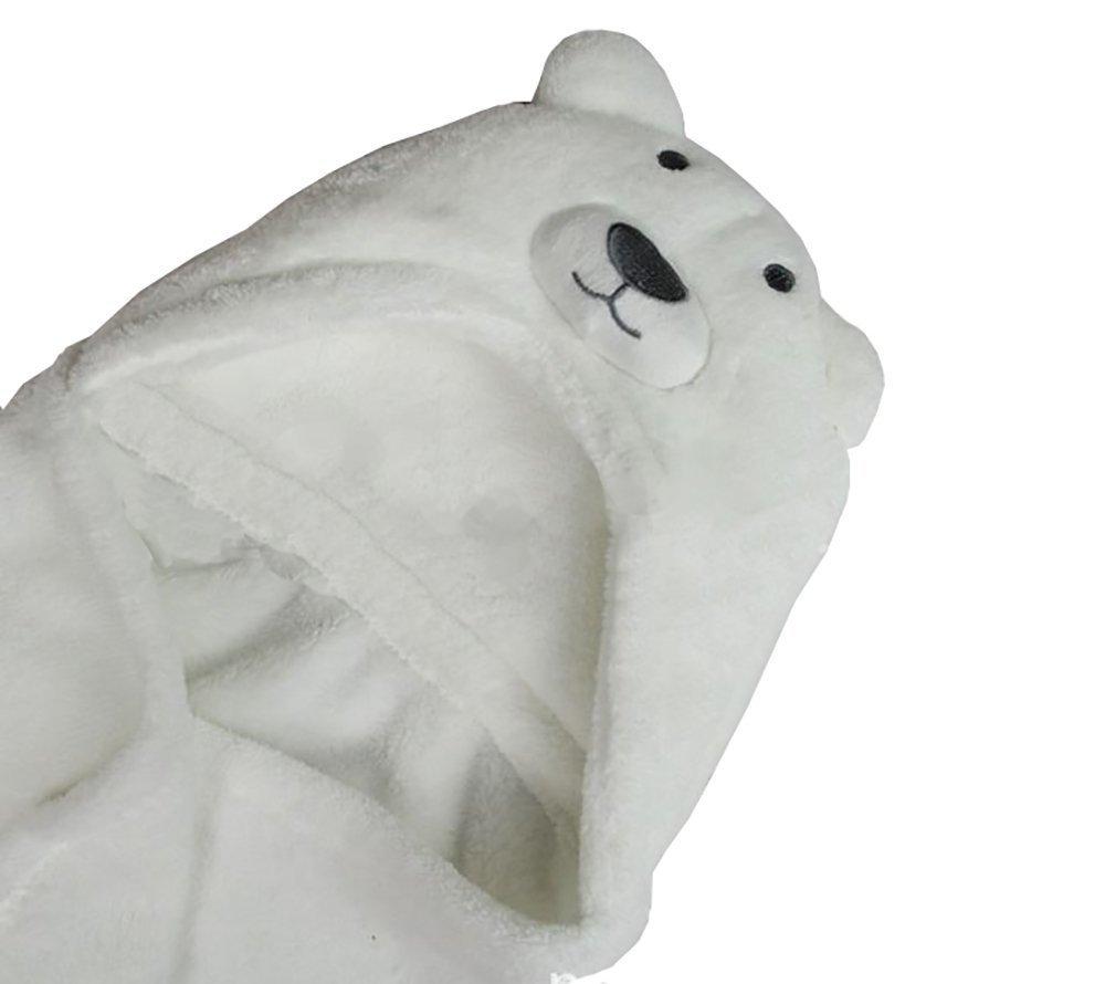 Kids Toalla de playa manta con capucha albornoz Poncho Animal (oso ...