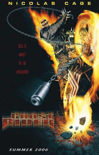 Ghost Rider Notice Movie D 11x17 Nicolas Cage Eva Mendes Raquel Alessi Angry Anderson
