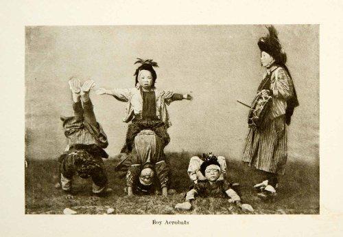 1904-print-japan-boy-acrobats-costume-children-kakubeijishi-teacher-performance-original-halftone-pr